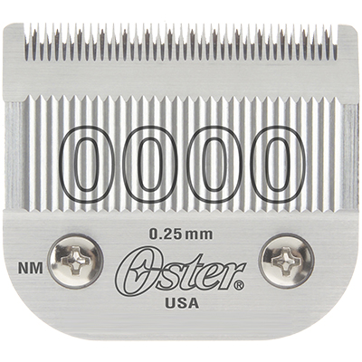 Oster Blade Size 0000 для Oster 97, A6, Golden A5, Power Max, Power Pro Ultra