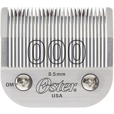 Oster Blade Size 000 для Oster 97, A6, Golden A5, Power Max, Power Pro Ultra